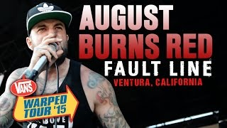 "August Burns Red - ""Fault Line"" LIVE! Vans Warped Tour 2015"