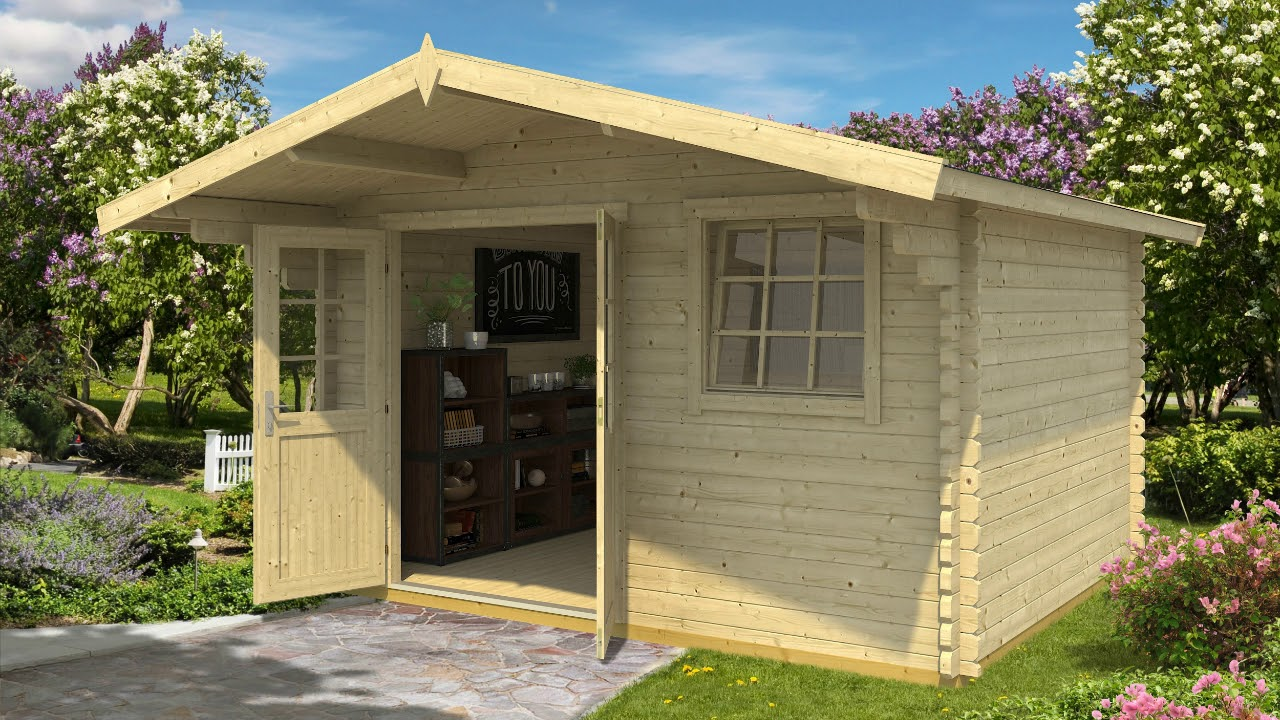 Gartenhaus Aus Holz Zum Selber Bauen Unser Modell Lasita Maja Gotland 3e