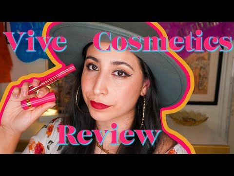 Vive Cosmetics Review   Design by Brianna