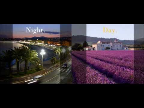 Night and Day - Branding Concept for Région Provence-Alpes-Côte d'Azur