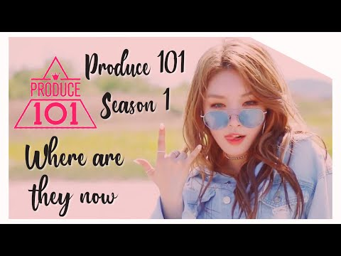 PRODUCE 101 SEASON 1: WHERE ARE THEY NOW (end of 2019)
