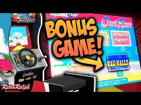 Arcade1up Outrun Easter Egg Revealed - BONUS GAME!! from Retro Ralph