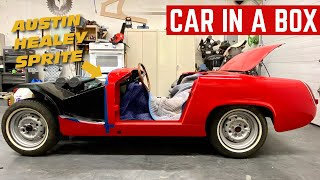CAR IN A BOX: Rebuilding An Austin Healey Sprite From Nothing