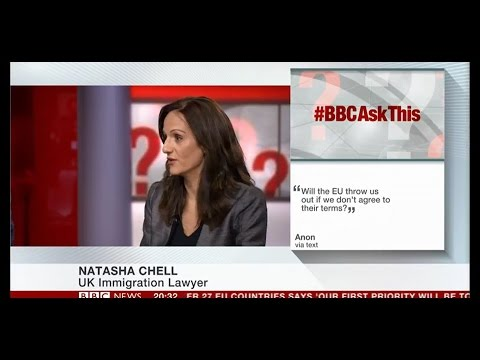 Natasha Chell speaks with BBC News: #BBCAskThis - Brexit Special - 29 March 2017