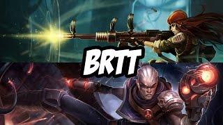 brTT Caitlyn / Thresh vs Lucian / Morgana - Bot