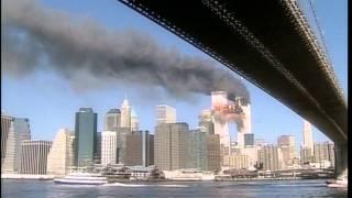 2nd Plane Hit on 9/11/01, Brooklyn Bridge