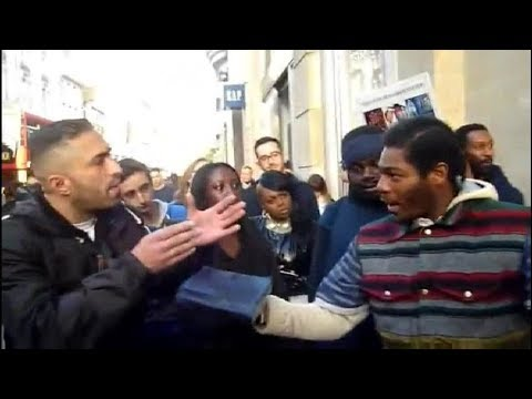 Muslim Qamaron Debates The Hebrew Israelites - Various Topics - Oxford Street London -
