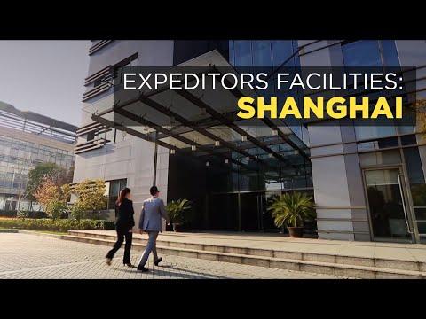 Expeditors in Shanghai