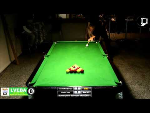 Turk's Sports Bar Open 8 Ball | 2015 | FINAL | Scott Matthews v Steve Tran