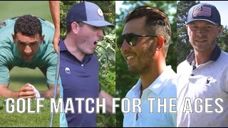 Paul Bissonnette & Ryan Whitney VS Chris Wagner & Brandon Yip - Return of the Sandbagger