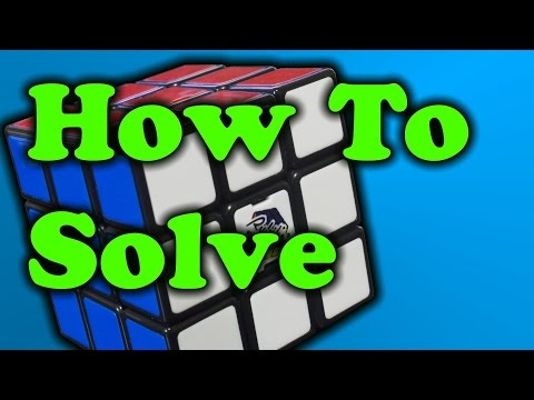 How To Solve A Rubik's Cube - Easy Method!!