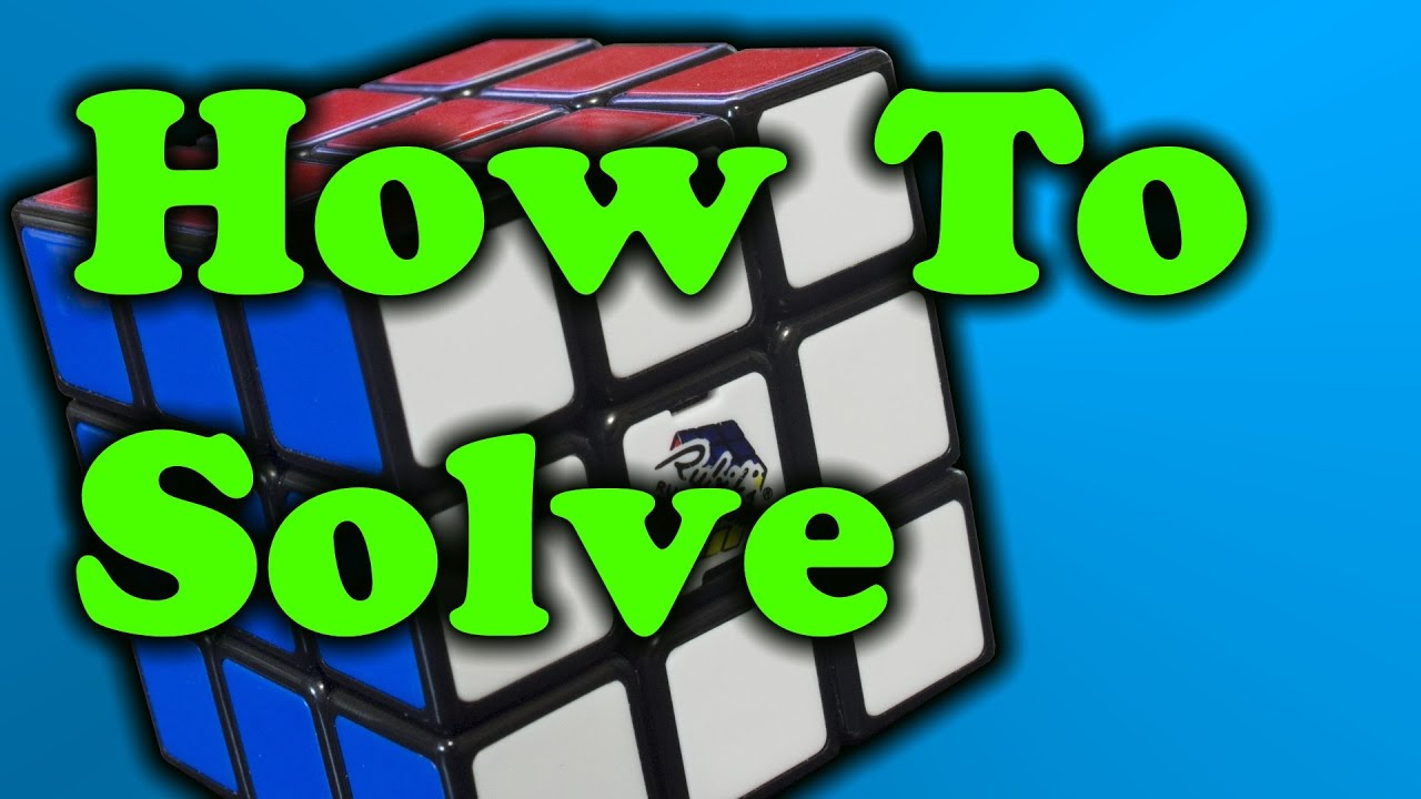 How To Solve A Rubik's Cube  Easy Method!!