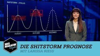 Die Shitstorm Prognose mit Larissa Rieß | NEO MAGAZIN ROYALE mit Jan Böhmermann - ZDFneo