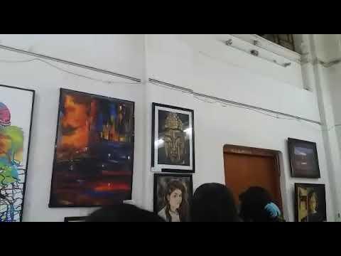 Art fair in lalit kala vibhag (m.g.k.v.p, varanasi)