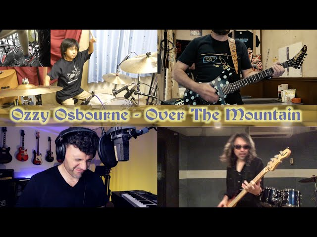 Over the Mountain - Ozzy Osbourne (Cover) / Yoyoka with FRIENDS