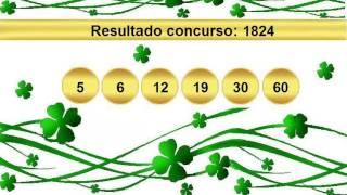 sorteio resultado mega sena 1824 Palpite 1825