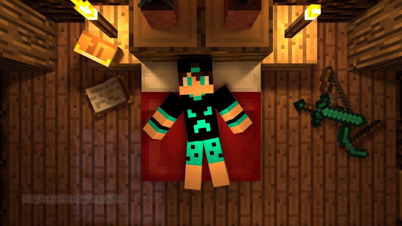 Como Colocar Capa De Minecraft Nos Seus Vídeos Pelo