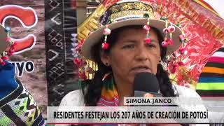 RESIDENTES POTOSINOS FESTEJAN 207 AÑOS DE CREACIÓN
