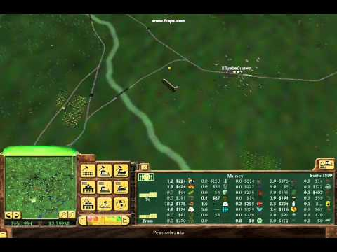 Railroad Tycoon 3 Made in America Map |