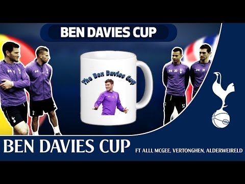 The BEN DAVIES CUP featuring Dele Alli, Luke McGee, Jan Vertonghen and Toby Alderweireld