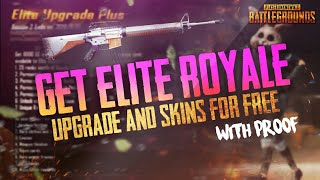 PUBG Mobile : How to get Elite Royale pass for free latest trick | NEW update 0.6.0 free Royale pass