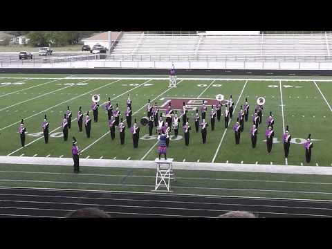 Bonham High School 3A Marching Band, October 12, 2013 at Princeton, TX.