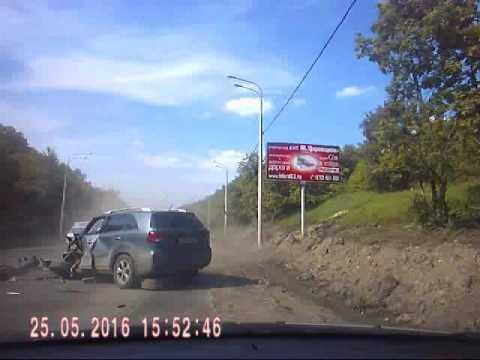 Авария Самара дубки 25 05 16