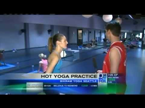 Bikram Yoga With Q13 S Kaci Aitchison And Bill Wixey Youtube