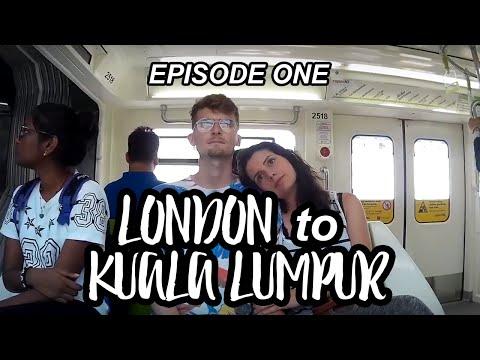 LONDON TO KUALA LUMPUR!  - Rambling In Tandem - Travel Vlog #1