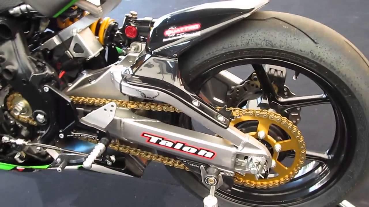 Tt Race Winning Bike Kawasaki Er 6 Youtube