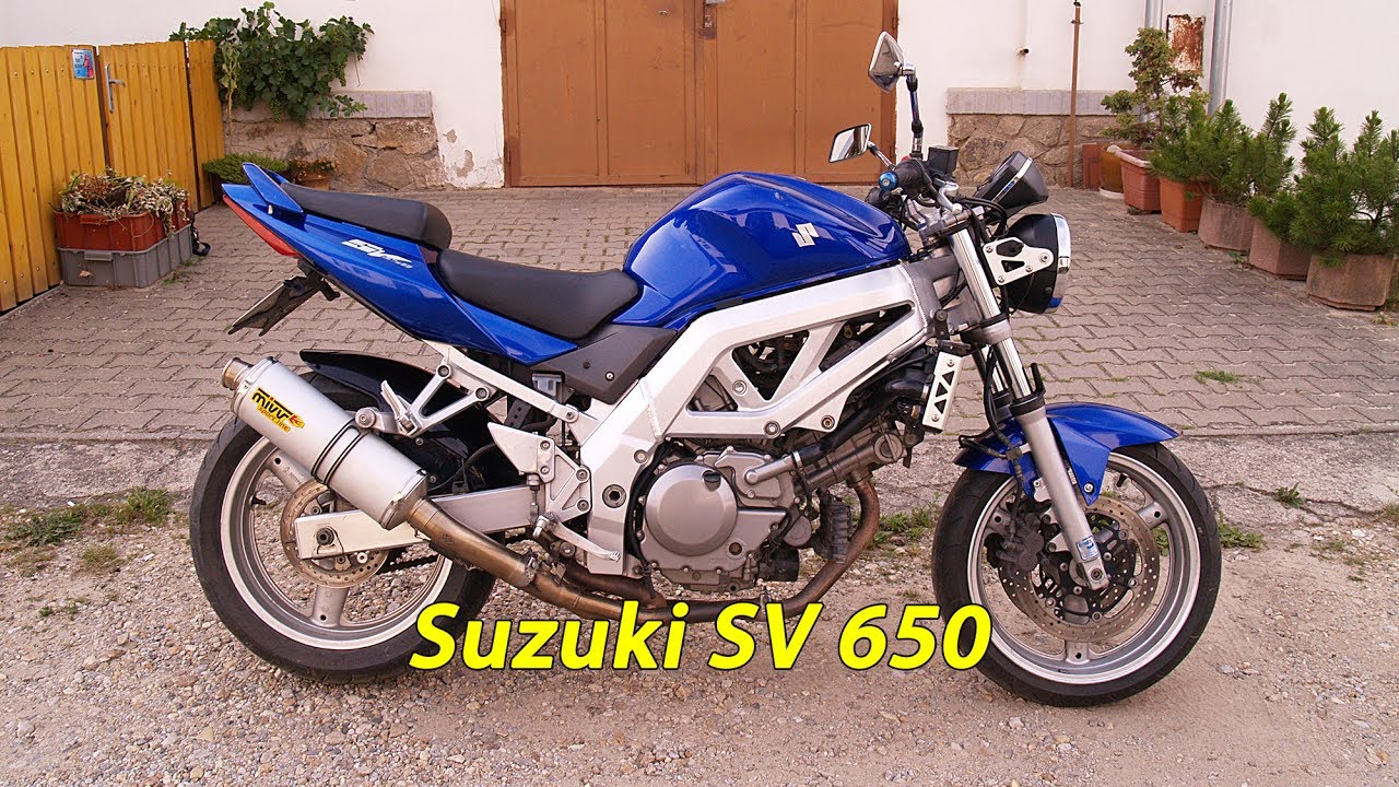 suzuki sv 650 2005 youtube. Black Bedroom Furniture Sets. Home Design Ideas