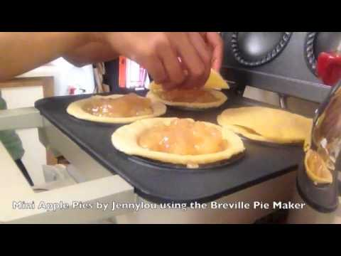 Mini Apple Pies with Breville Mini Pie Maker