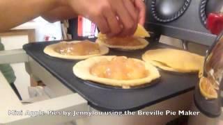 Mini Apple Pies With Breville Mini Pie Maker