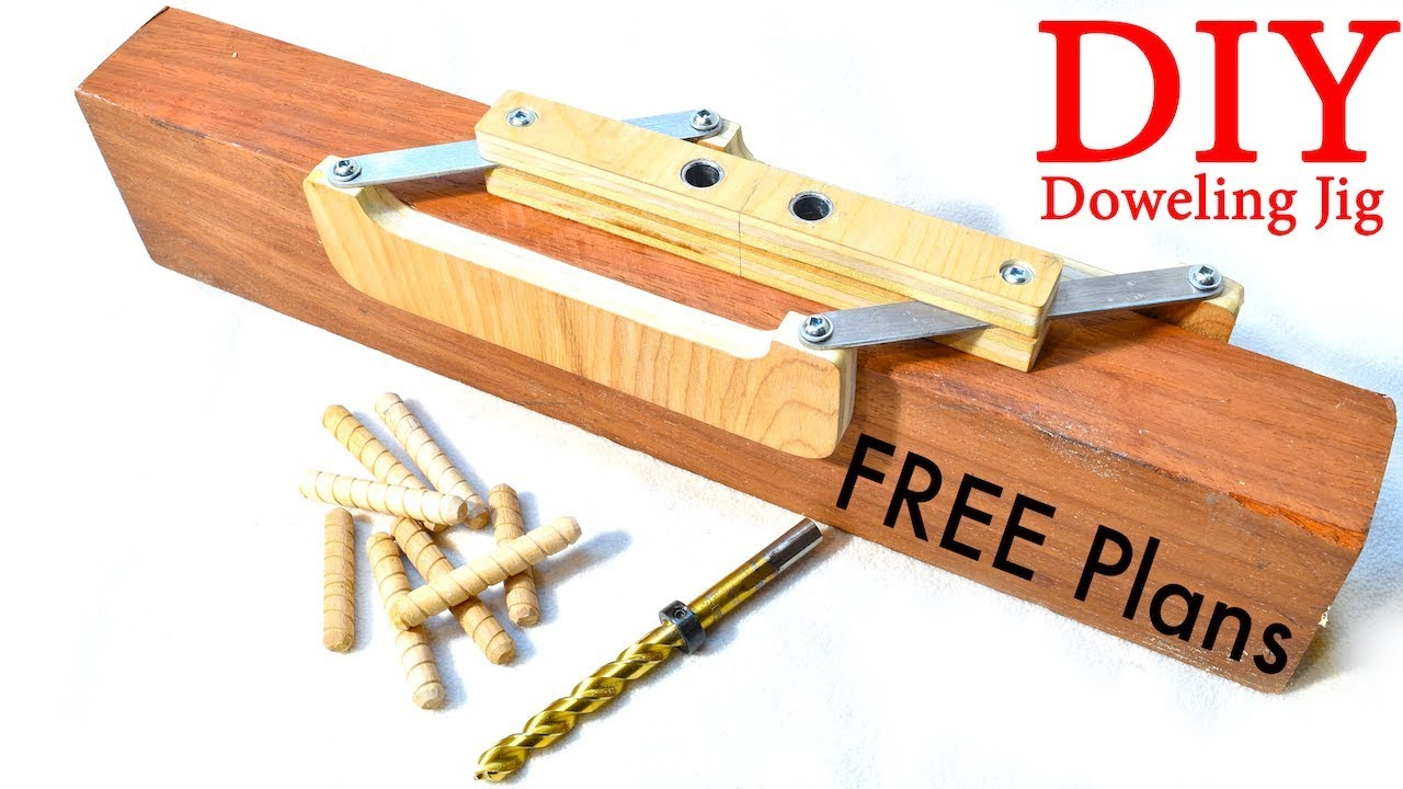 Self–Centering Doweling Jig / FREE PLANS - YouTube