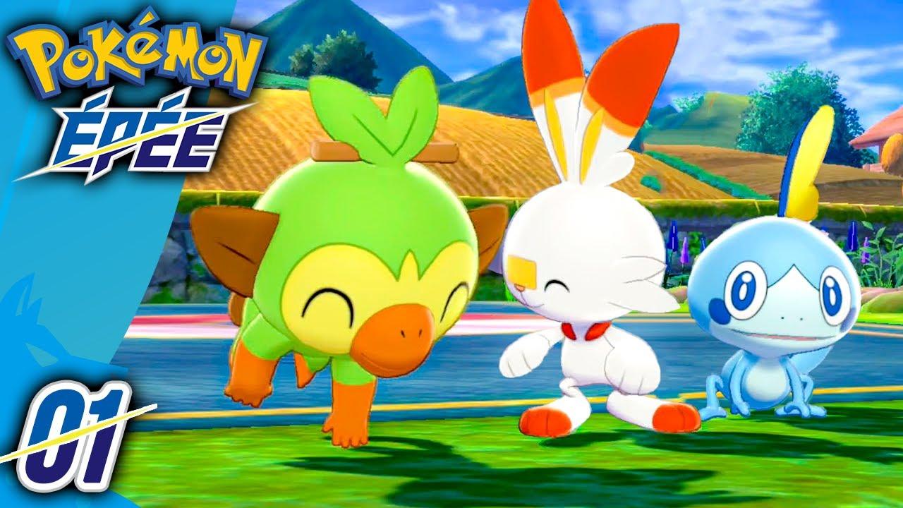 Download Pokémon Épée 🔹01 - Flambino, Ouistempo ou Larméléon ? - Let's Play Pokémon Épée Bouclier