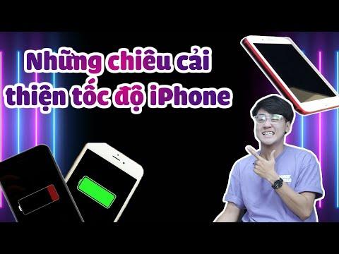 Những chiêu cải thiện tốc độ iPhone cũ chạy gần như mới