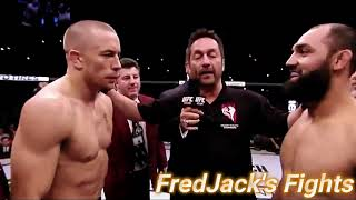 Georges St. Pierre Vs. Johny Hendricks Highlights Controversial Classic