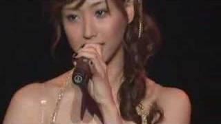 Miki Fujimoto performing Shining Itoshiki Anata (シャイニング 愛し...