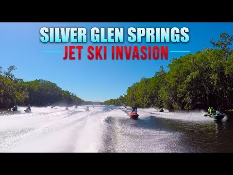 Silver Glen Springs Jet Ski Invasion
