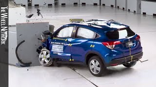 2019 Honda HR-V Crash Test IIHS Driver-side Small Overlap Front