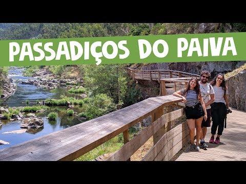 Passadiços do Paiva: uma trilha de madeira entre as montanhas