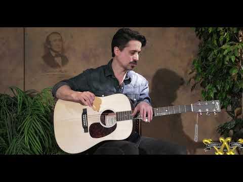 Corey Congilio shows us the new Martin D-10E at Willcutt Guitars