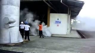 Explosão dos Tubos Superiores Caldeira Aquatubular a (35 Bar)