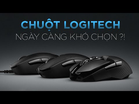 Chuột Logitech ngày càng khó để lựa chọn?! | GEARVN