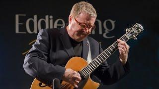 "Martin Taylor tribute to Eddie Lang at Eddie Lang Jazz Festival 2014 - ""Please"""