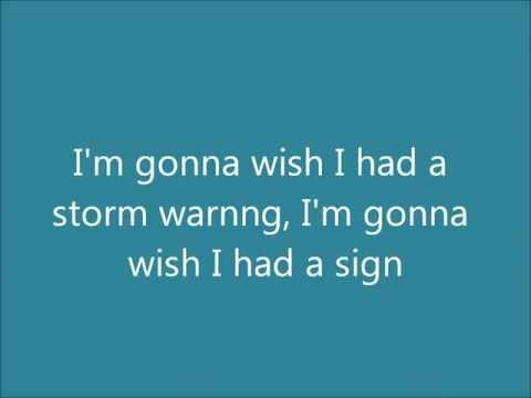 Storm Warning- Hunter Hayes