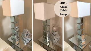 DIY ||💕Modern Glam Table Lamp || Home Decorating for Less💕