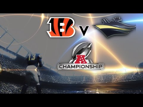 PLAYOFFS Vs. Rival Bengals! Madden 16 Relocation Franchise Ep. 34 | AFC Championship vs. Bengals