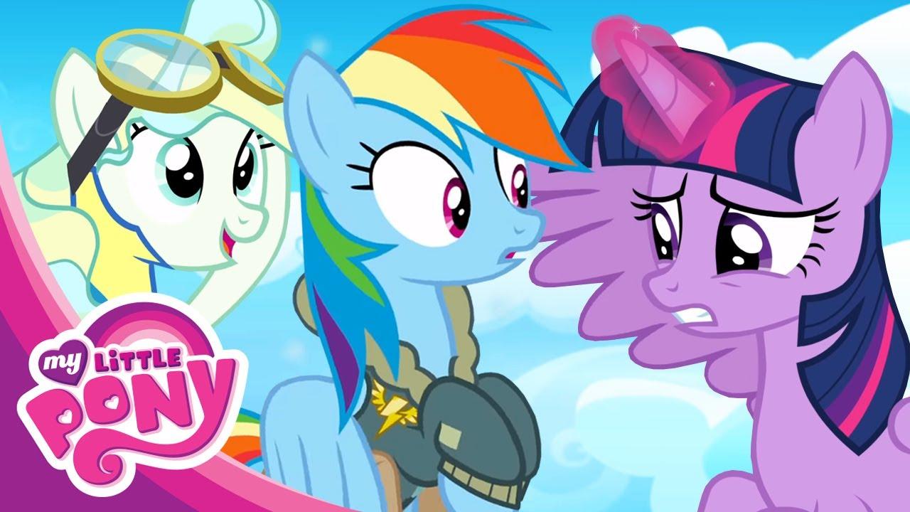 Дружба  - это чудо. Мультфильм Май Литл Пони 6 сезон. Высший пилотаж. Тренировки Чудо молний!