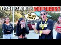 Asking Fans Who Their Least Favorite YouTuber Is...Again